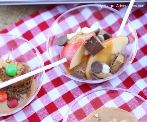 Crock Pot Caramel Apple Bar
