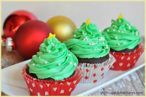 christmas tree cupcakes so easy and perfect for holiday parties - Christmas Cupcakes