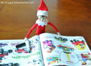 Elf on the Shelf Ideas_ Elf Likes the Toy Book