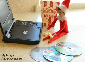 Elf on the Shelf Ideas_ Movie Night