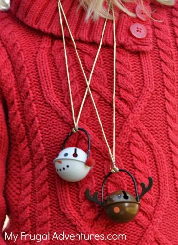 Homemade Christmas necklace