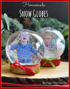 How to make a snowglobe- so fun and so easy!