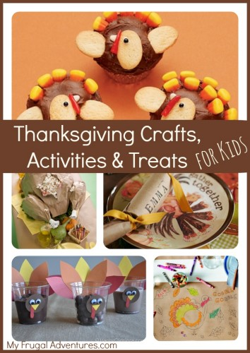Thanksgiving Crafts and Activities for Children