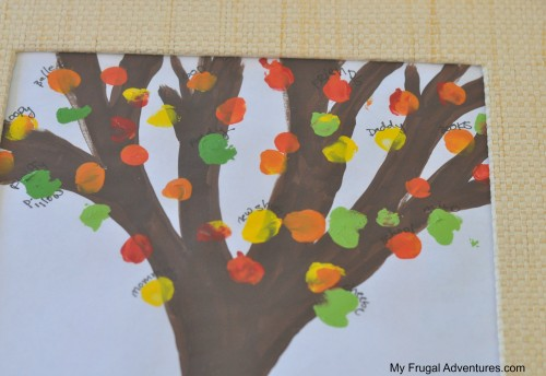 Thanksgiving Gratitude Tree for Children