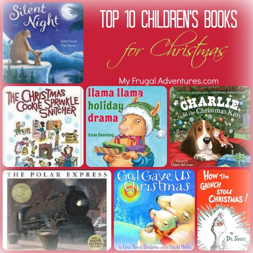 Christmas Books For Kids.Top 10 Christmas Books For Kids My Frugal Adventures
