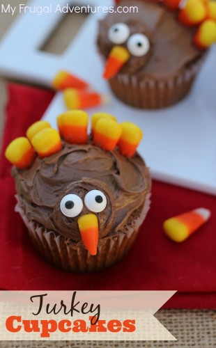 Thanksgiving Turkey Cupcake Recipes Archives My Frugal Adventures