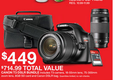 canon t3 dslr camera bundle $362 my frugal adventures