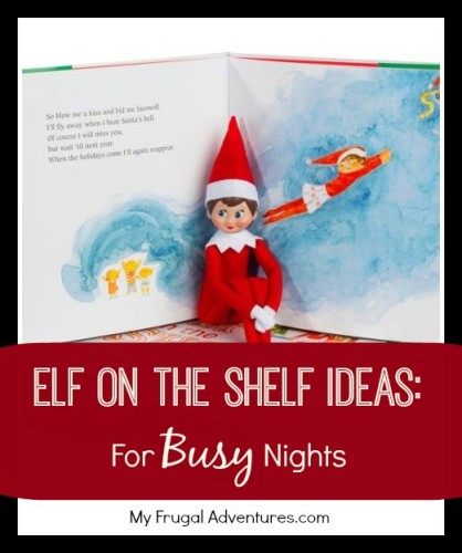 These funny Elf on the Shelf ideas are easy to pull off, but still rock. These Elf on the Shelf ideas are super easy, but funny.