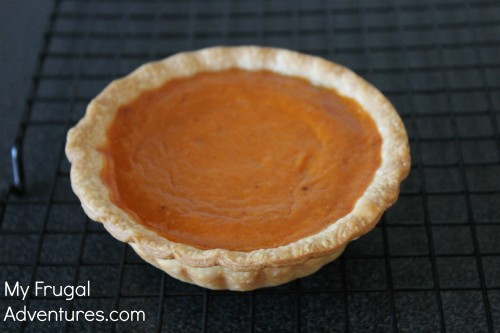 how to make a homemade mini pumpkin pie