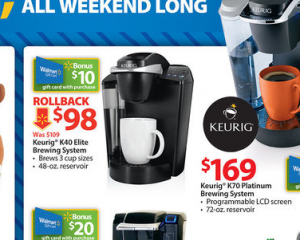 keurig at walmart