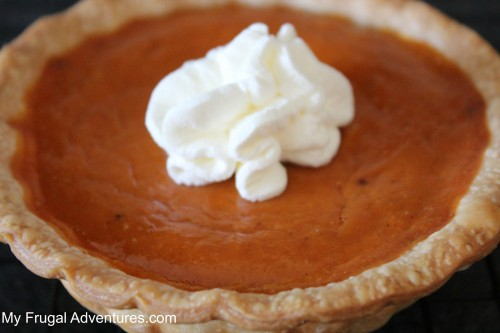 Mini Pumpkin pie recipe