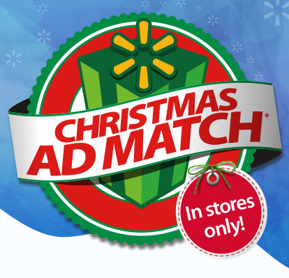 Walmart: Christmas Ad Match Policy - My Frugal Adventures