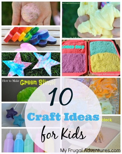 10 Craft Ideas for Kids
