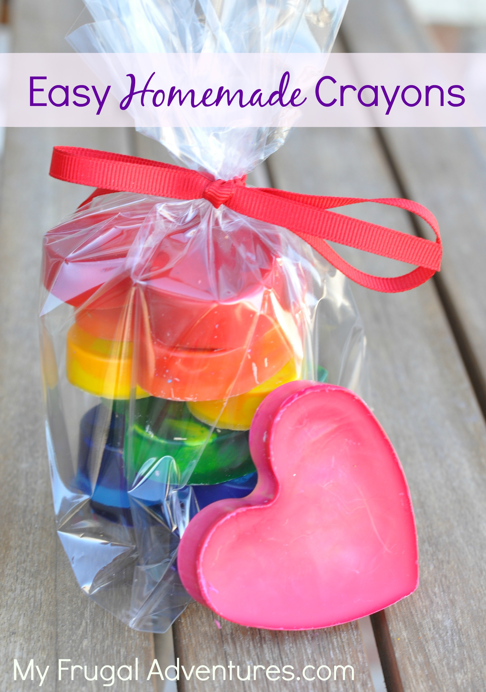 Fast and Easy Homemade Crayons {Perfect Gift Idea} - My Frugal ...