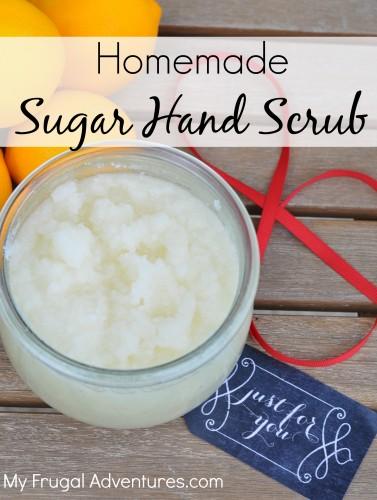 Easy sugar scrub recipe