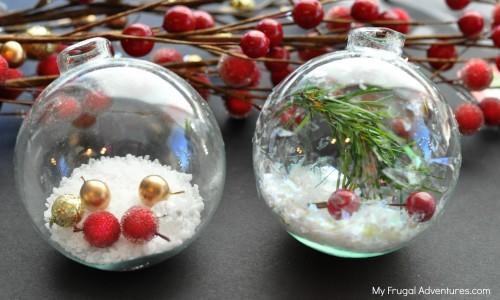 Homemade Custom Christmas Ornaments