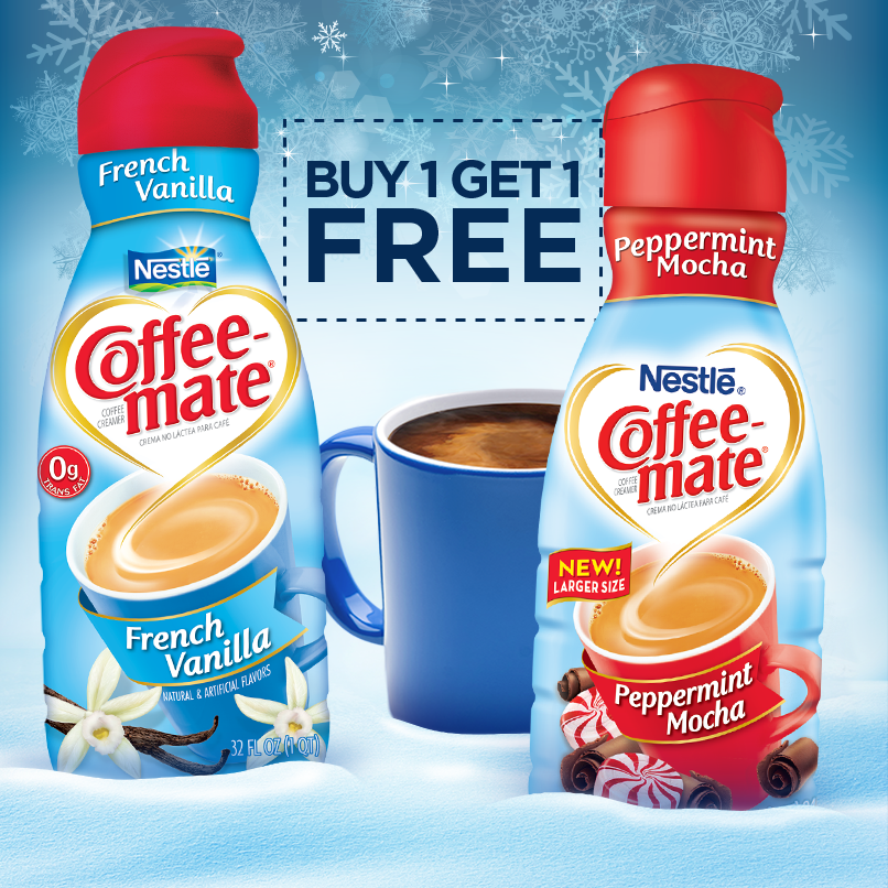 Sorry, no Coffee-Mate offers currently available.