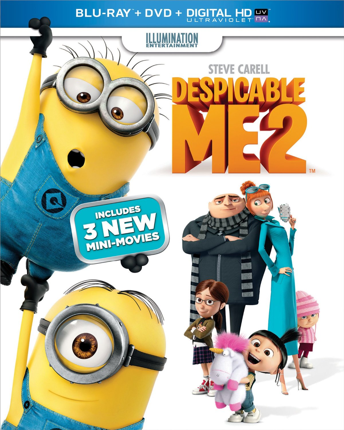 Despicable Me 2 will be released this Tuesday, December 10th. This is ...