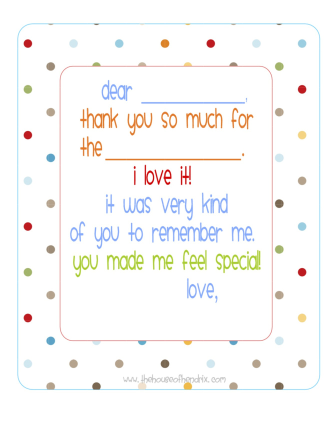 photograph about Free Printable Thank You Cards for Students titled Cost-free Printable Thank On your own Notes - My Frugal Adventures
