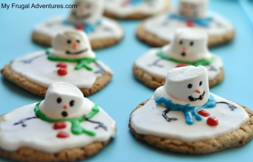melted snowman cookie recipe
