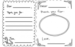 graphic regarding Printable Thank You Cards for Students called Cost-free Printable Thank Oneself Notes - My Frugal Adventures