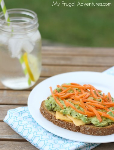 Cheddar and Avocado Sandwich Recipe -