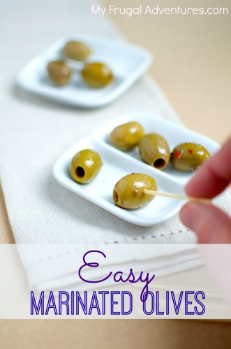 Easy marinated olives recipe