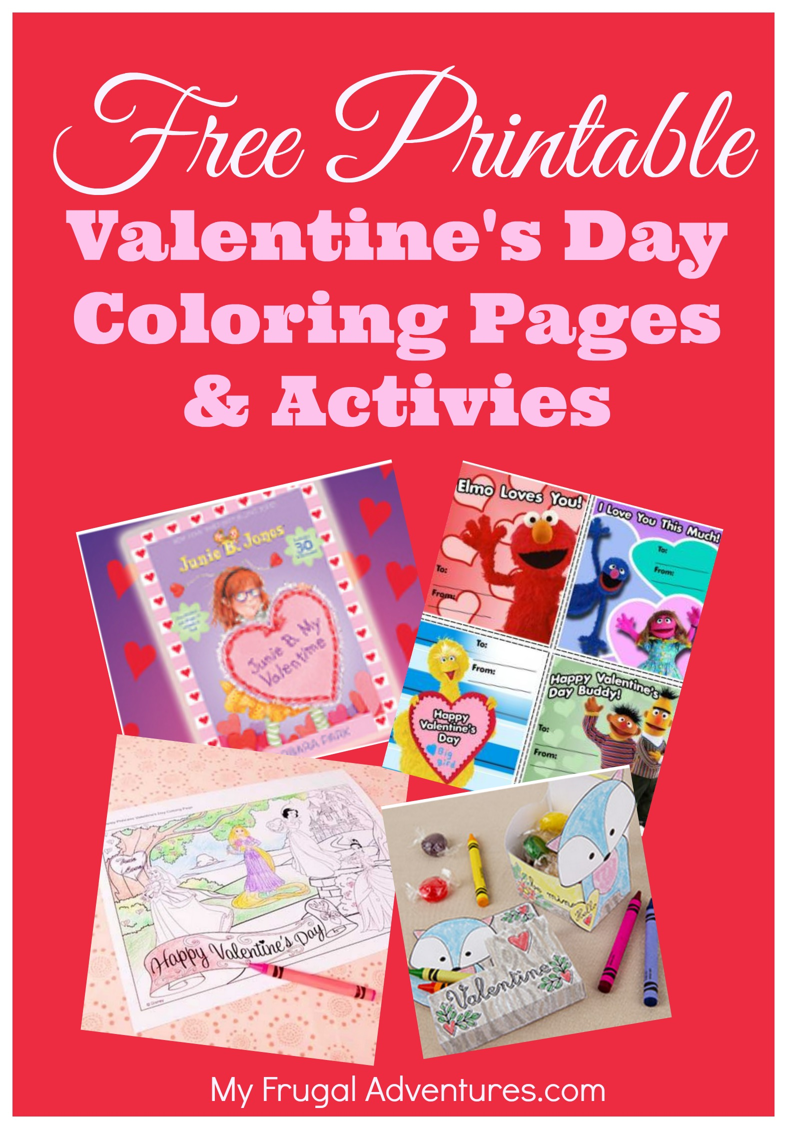 Free Valentine S Day Coloring Pages And Activities My Frugal