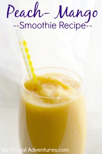 Mango breakfast smoothie recipe