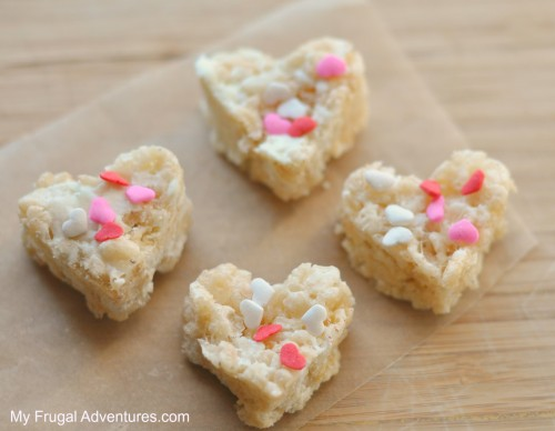 White Chocolate Rice Krispies Treats- so addicting!
