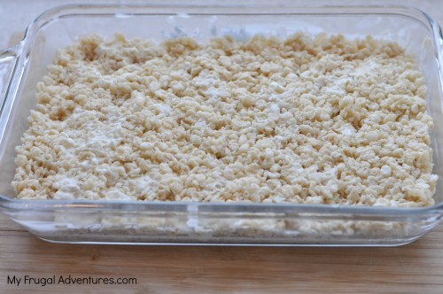 Rice krispy treat recipe