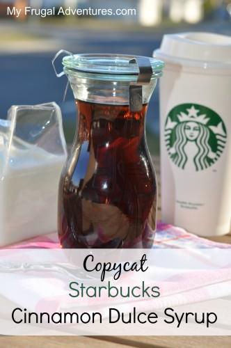 Starbucks Cinnamon Dulce Syrup Recipe