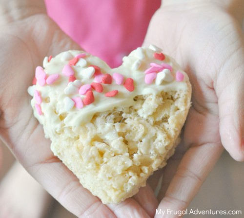 White Chocolate Rice Krispies Treats