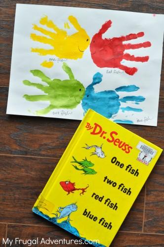 10 spring handprint art ideas for children my frugal for Dr seuss crafts for preschool