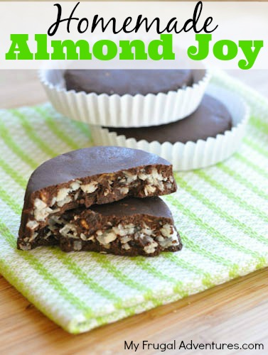 Homemade Almond Joy Recipe- so delicious and no added sugar!