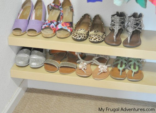 diy shoe organization racks easy ikea hack my frugal