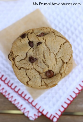 Nutella Stuffed Chocolate Chip Cookies with Brown Butter and Sea Salt - these will knock your socks off! Perfect homemade gift idea!