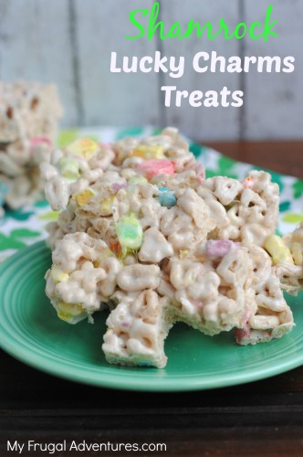 Shamrock Lucky Charms Treats Recipe
