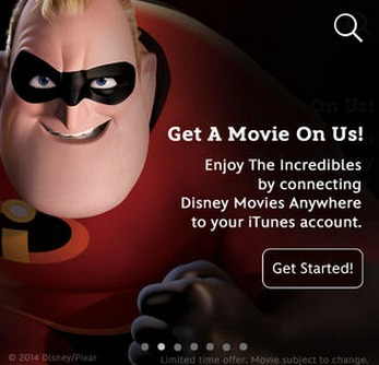 Free Disney Movies Anywhere App {plus Free Incredibles Movie