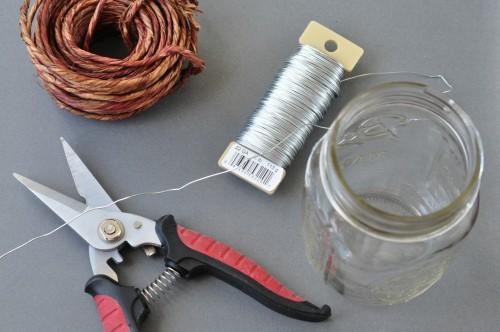 How to make hanging mason jar lanterns