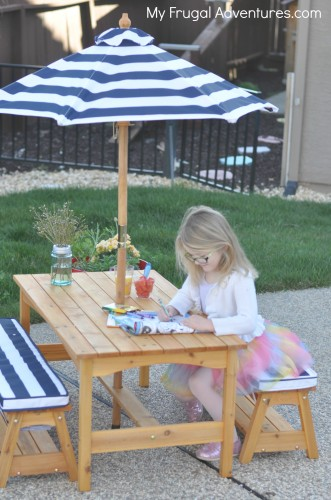 Awe Inspiring Kidkraft Outdoor Table And Chair Set For Children 159 My Andrewgaddart Wooden Chair Designs For Living Room Andrewgaddartcom