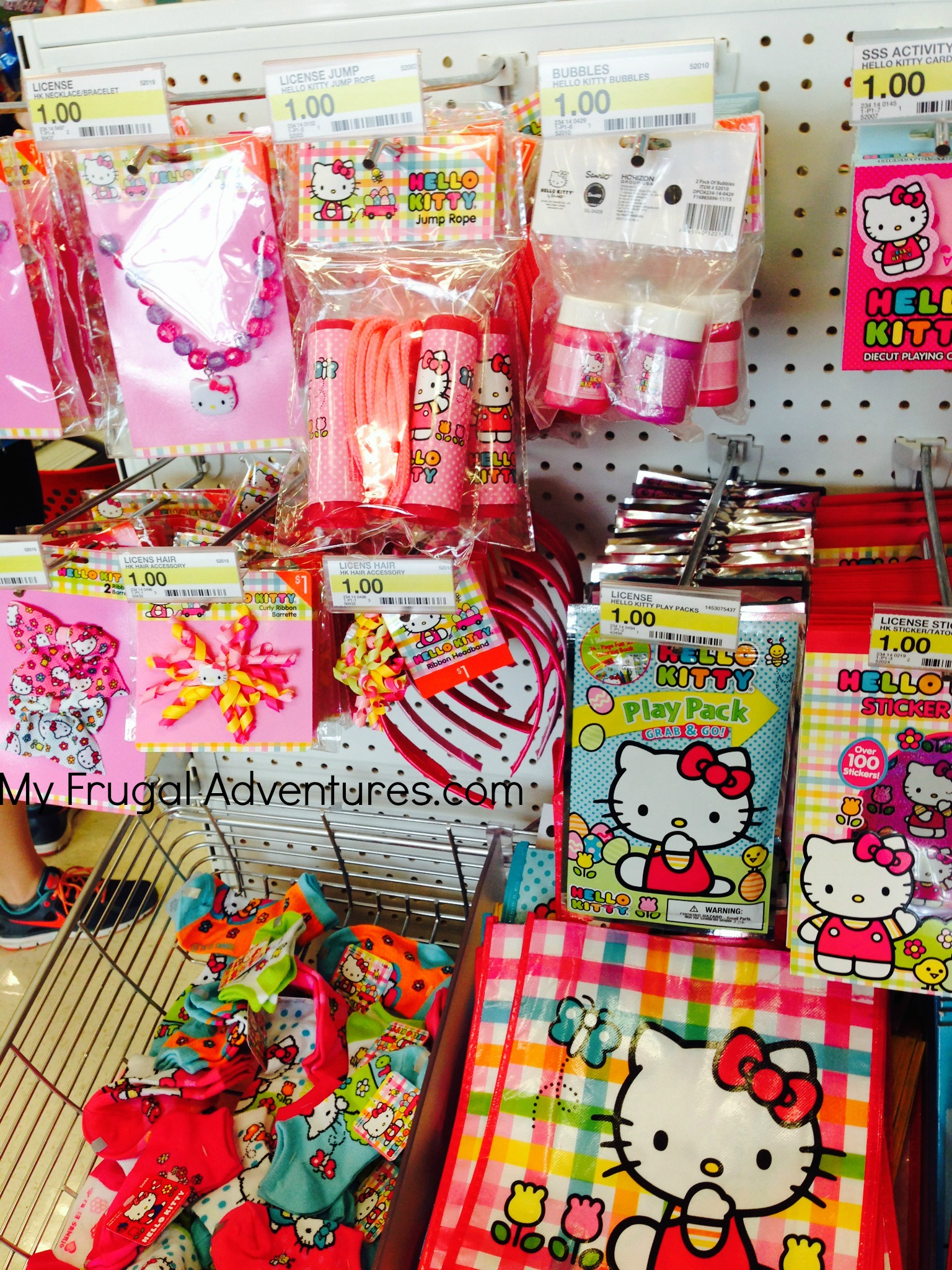 hellokitty1 - Dollar Tree Coloring Books