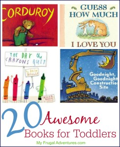 20 awesome books for toddlers