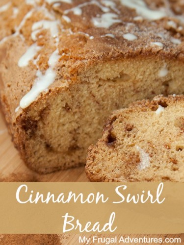 and super easy recipe for you today. This Cinnamon Swirl bread ...