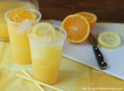 You can also freeze slices of lime, lemon or oranges in water and use ...