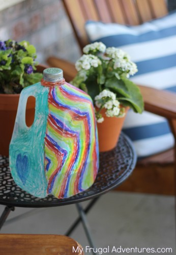 How to make a watering can