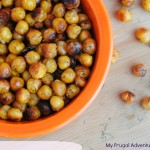 Ranch Roasted Chickpeas- perfect quick and healthy snack