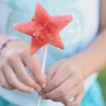 Watermelon Lollipops- easy and fun treat for children