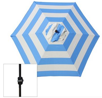 If You Need A New Patio Umbrella Here Is Great Deal Kohls Has The Sonoma Market On For 54 99 There Are Several Patterns To Choose