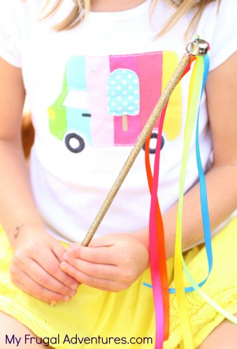 How to Make a Magic Wand for Children